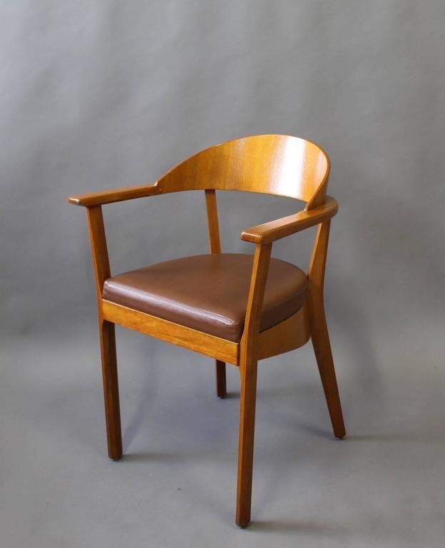 16 Wooden Armchairs by Baumann, 1980s 3