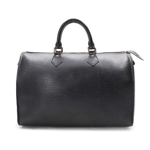 Louis Vuitton Speedy 35 Epi Small bags Black Leather M42992