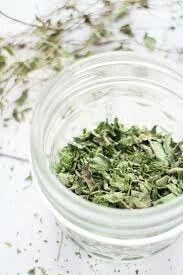 Brooklyn Farm Girl- -how to dry mint for tea