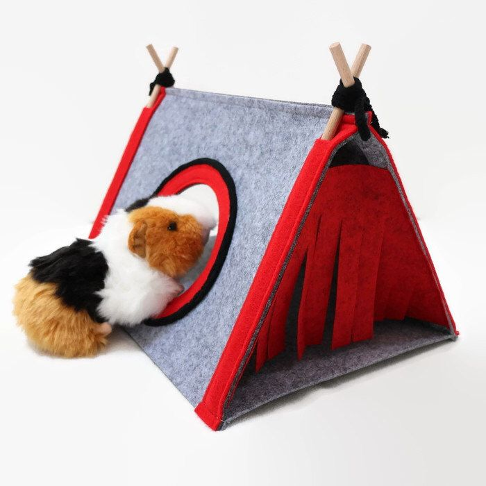 Guinea pig house Hedgehog bed Small pet house Guinea pig hideout Small pet tent by CatsbyDesign & Guinea pig house Hedgehog bed Small pet house Guinea pig hideout ...