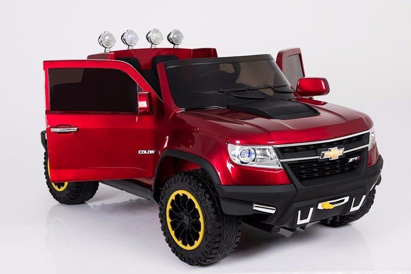 Chevrolet Colorado Licensed 4wd Remote Control Ride On Truck