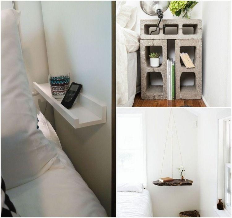 Nachttische ideal für kleine Schlafzimmer | Haus, Hund und Hof ...