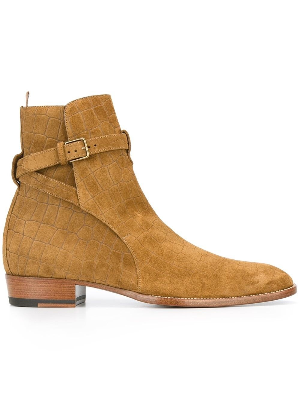 c3a876ea7a3 SAINT LAURENT 'Wyatt' Jodhpur Ankle Boots. #saintlaurent #shoes ...