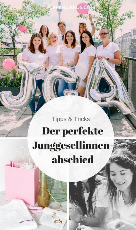 Der perfekte Junggesellinnenabschied   Jessi&Marco   Pinterest ...