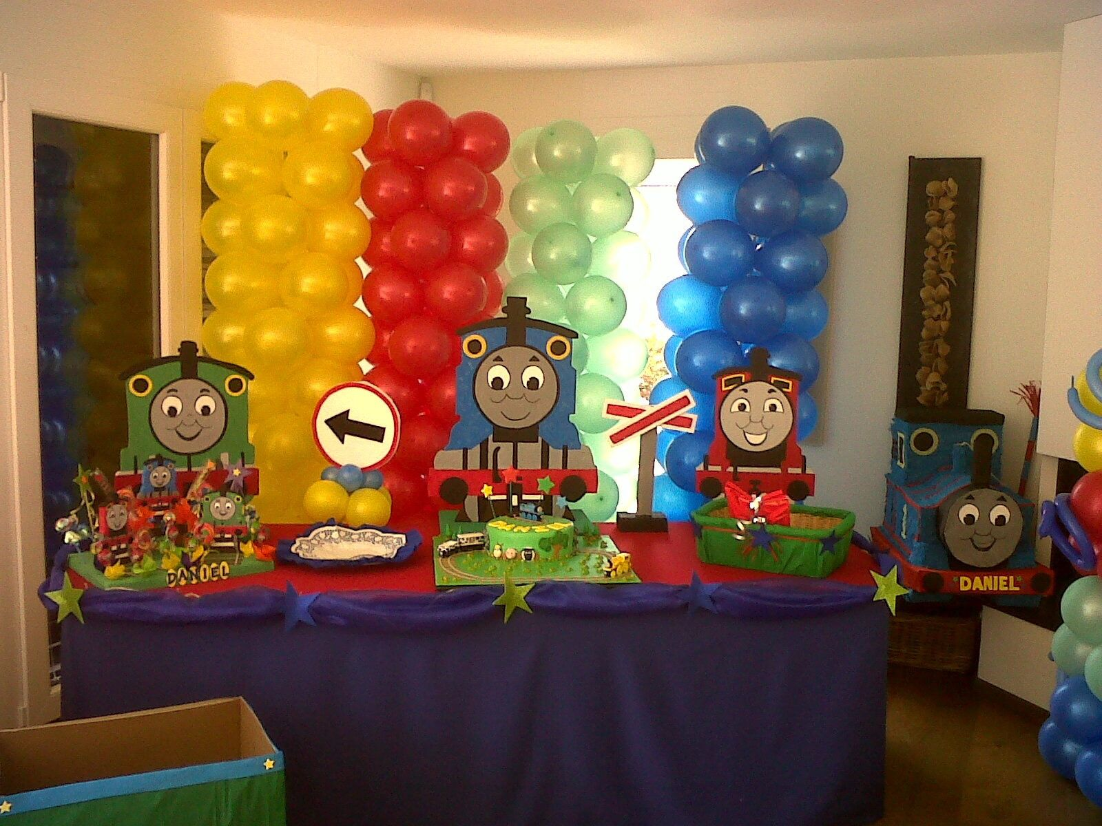 Thomas Train Standees Wood 3 Feet Birthday Decorations Adorabledecorations