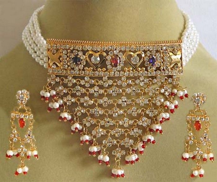 Gold Jewellery Designs in Pakistan For the Home Pinterest Gold