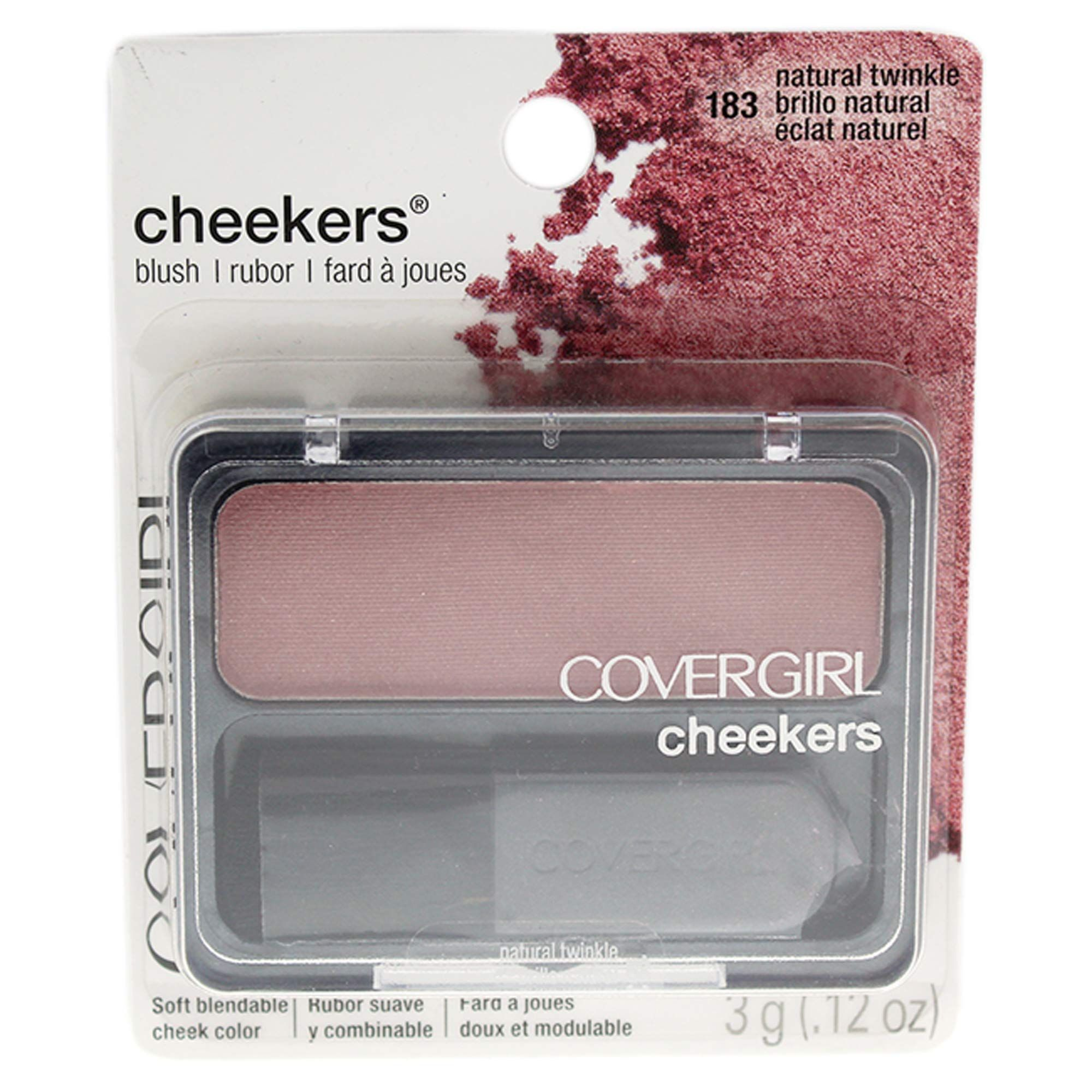 CoverGirl Cheekers Blush Natural Twinkle in 2020