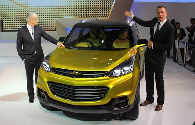 Chevy Adra Concept Cuv For Indian Auto Market Camaro Models