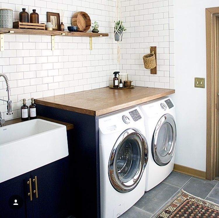 pin by stephanie kasanders amore on ford modern laundry on extraordinary small laundry room design and decorating ideas modest laundry space id=32723