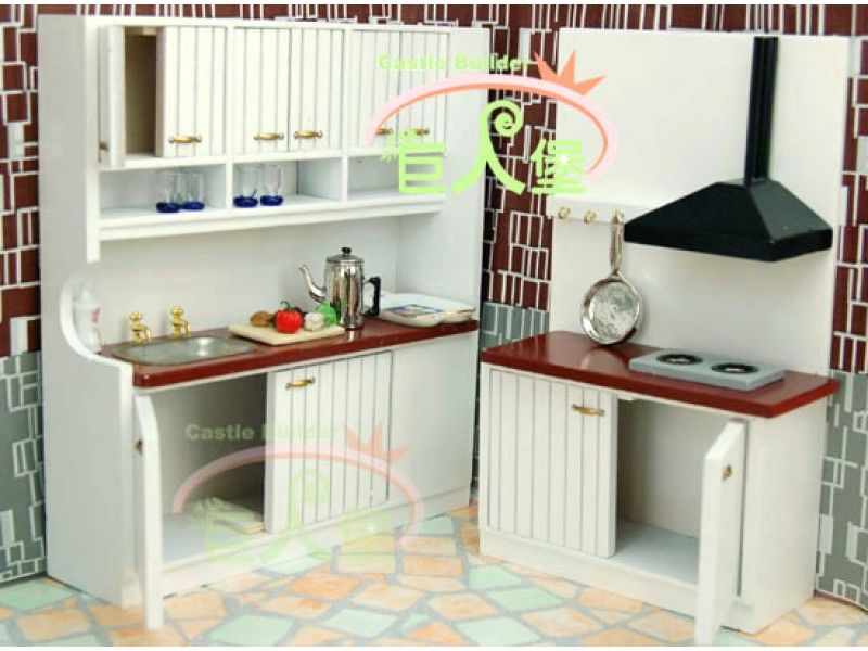 Doll House Furniture Model : 8 Cute Dollhouse Kitchen Furniture .