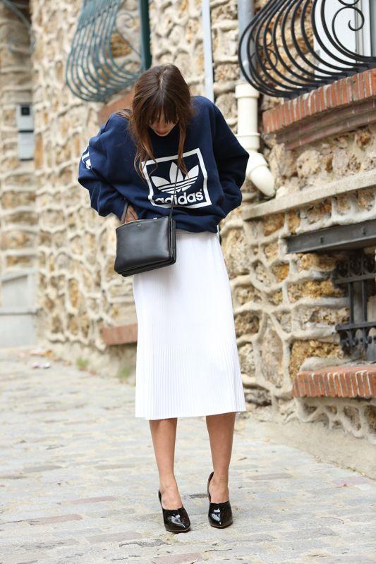 vintage pleat skirt