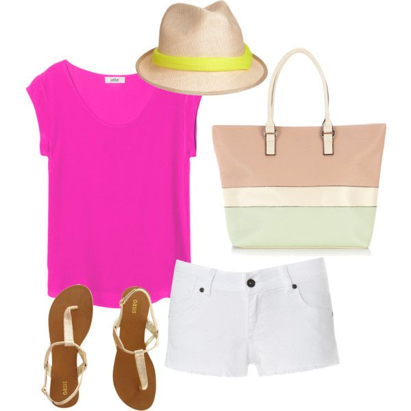 Cute Beach/Summer Outfit, created by ashhendricks on Polyvore