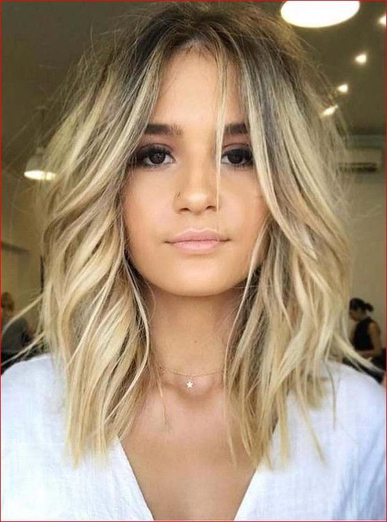 36 Gorgeous Undone Textured Lob Haircuts 2019 Beauty Best