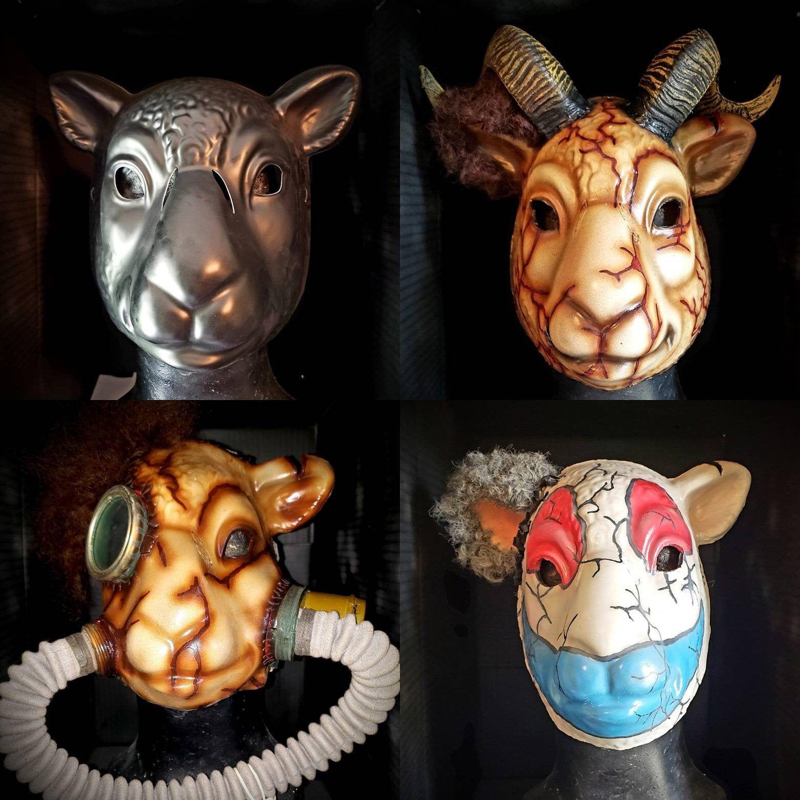 Mask Wearing Sheep Meme