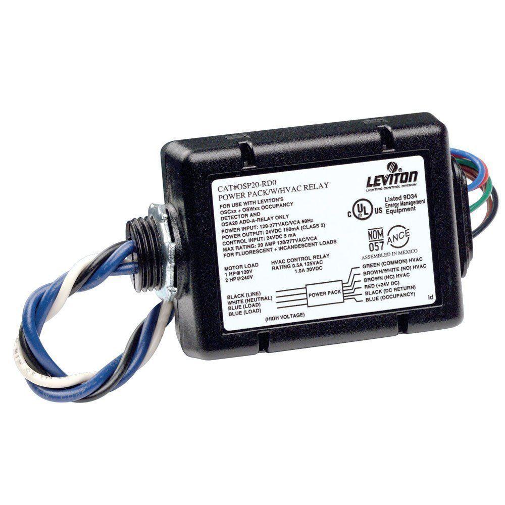 Leviton Osp20 Rd0 Fluorescent Incandescent Power Pack For Occupancy Sensor New Ebay Link Power Pack Leviton Sensor