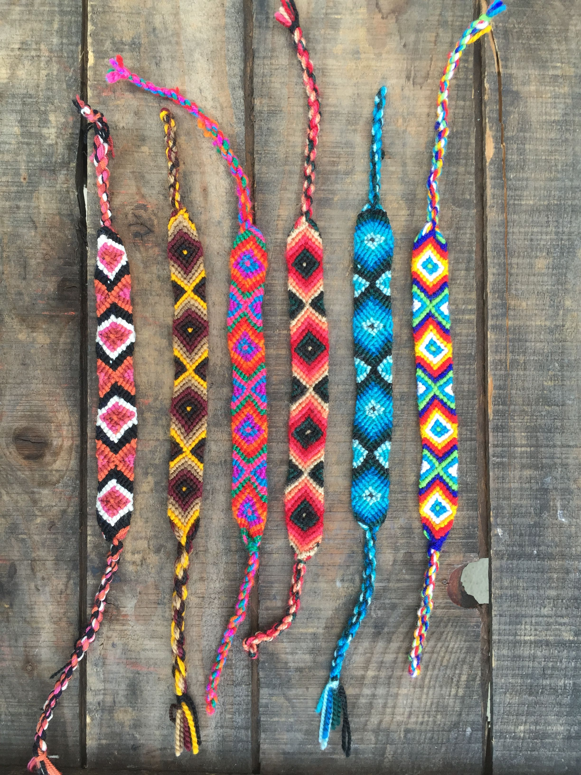 Friendship Bracelets Hand Crafted In Ecuador Lots Of Cool