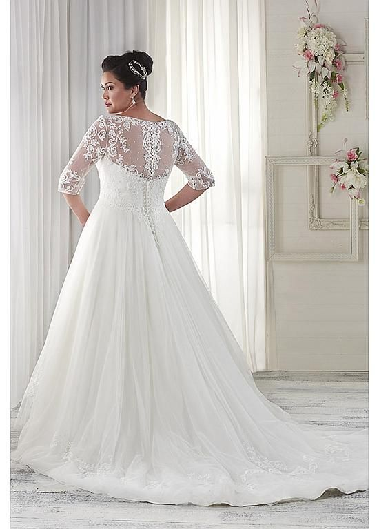 Wedding Dresses Ball Gown Fabulous Tulle V Neck Neckline A Line