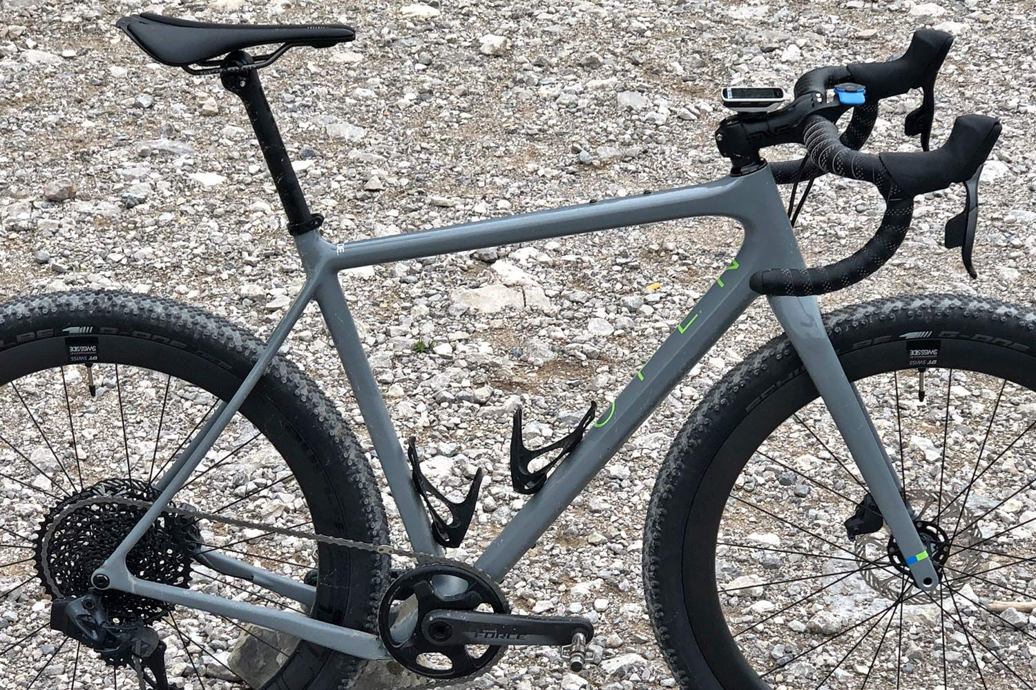 Open Wide And Take In An Even Wider Carbon Gravel Bike Gravel