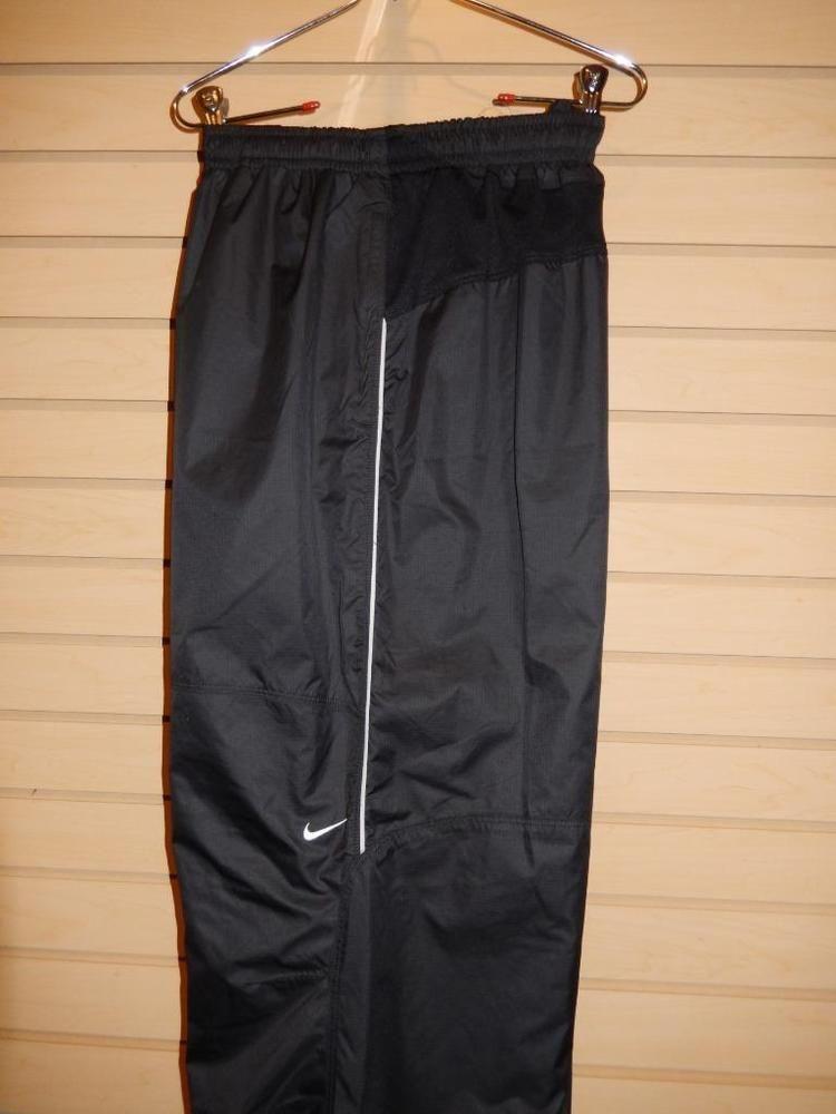 5779b0bf8ebf Men s Nike Storm-Fit Golf Wind   Rain Pants Lined Waterproof Black Size 2XL  EUC  Nike  Pants