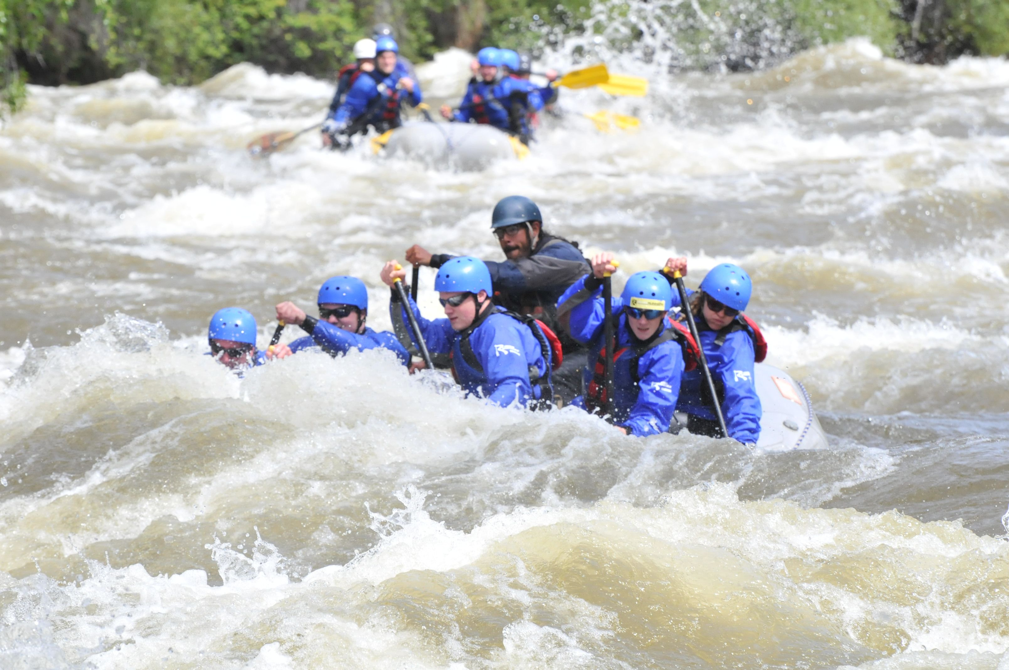 Find Epic Whitewater Rafting Conditions