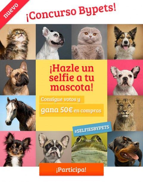 Participa en el #concurso de #selfies de #mascotas y gana 50€ en compras. #selfiesbypets
