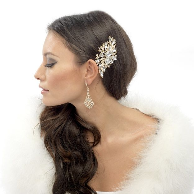 Vintage Hair Clips For Wedding Accessories