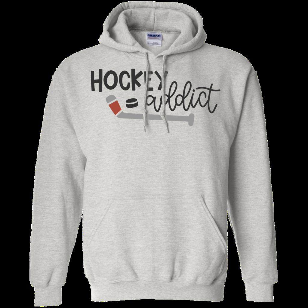 Hockey Addict Hoodie Hoodie Shirt Sweater Hoodie Hoodies [ 1024 x 1024 Pixel ]