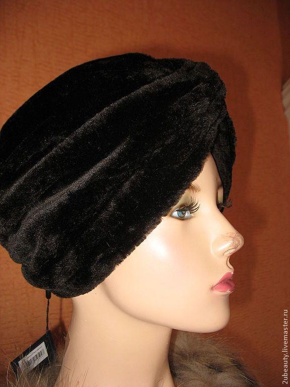 bf3450fca73e Купить Чалма из искусственного меха.Зимняя шапка.Тёплая шапка для ...