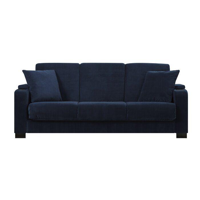 Ciera Convertible Sleeper Sofa Couch Storage Sofa