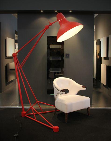 Diana floor standing giant lamp delightfull