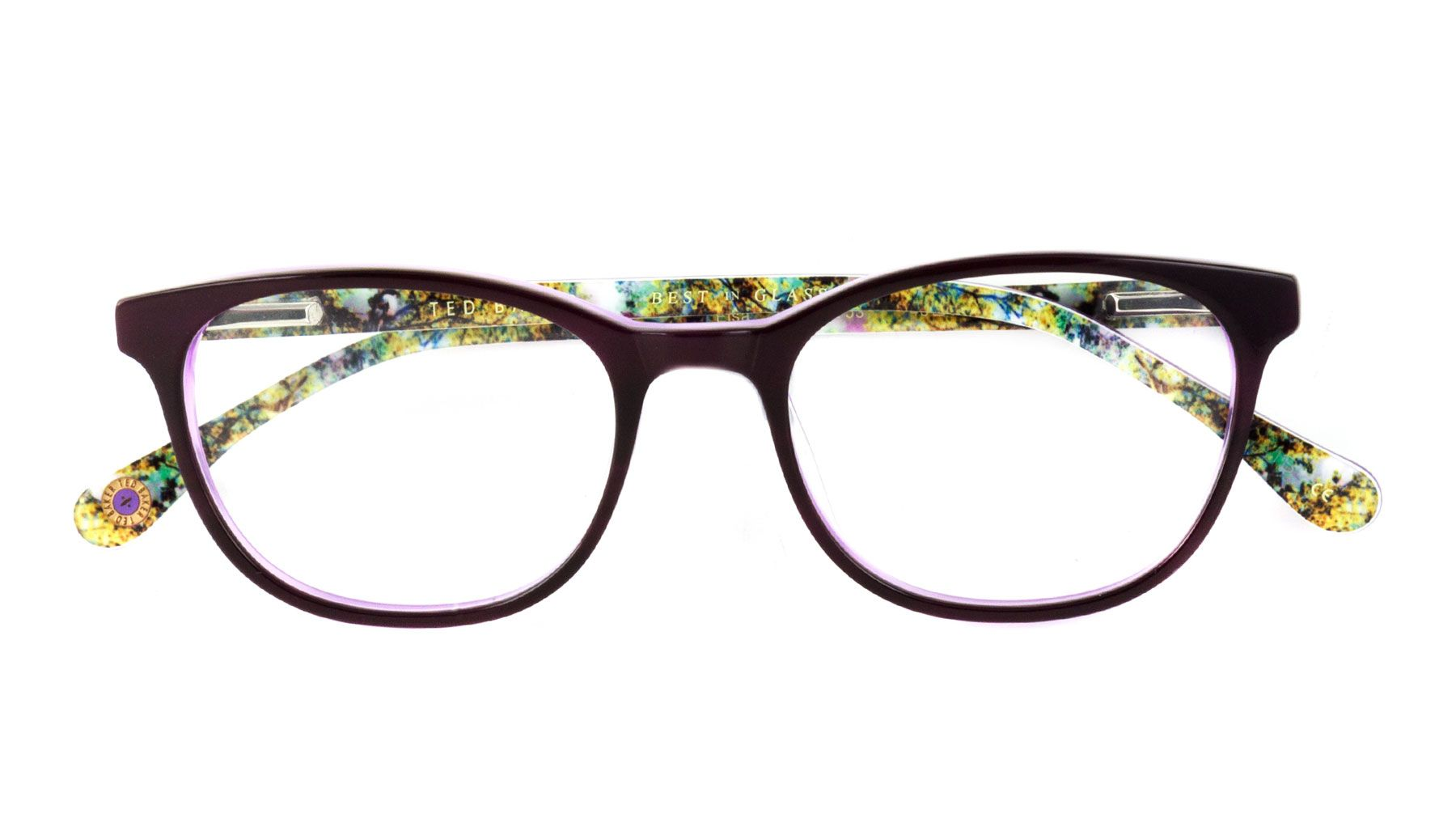 Ted Baker Children\'s Purple Oval Glasses 10206644 | Kids Glasses ...