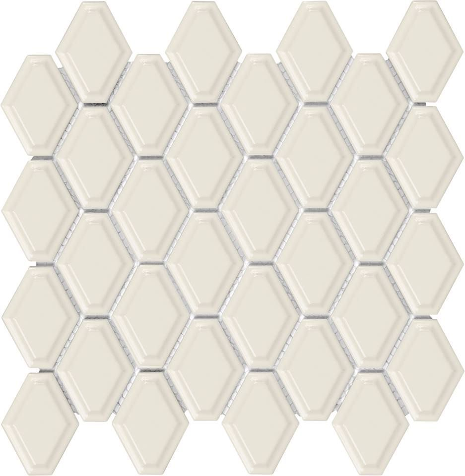 Beveled Convex Mosaic - Glossy Biscuit - On Sale - $6.49 per sheet ...
