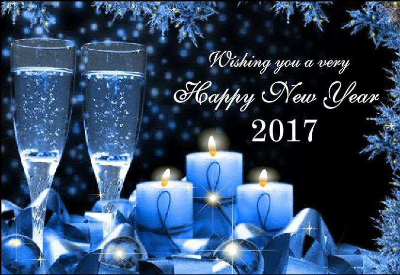 free happy new year cards winter 2017 | Happy New Year 2017 Wishes ...