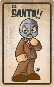 Caricatura De El Santo Caricaturas Mexicanas Lucha Libre Imagenes De Lucha Libre