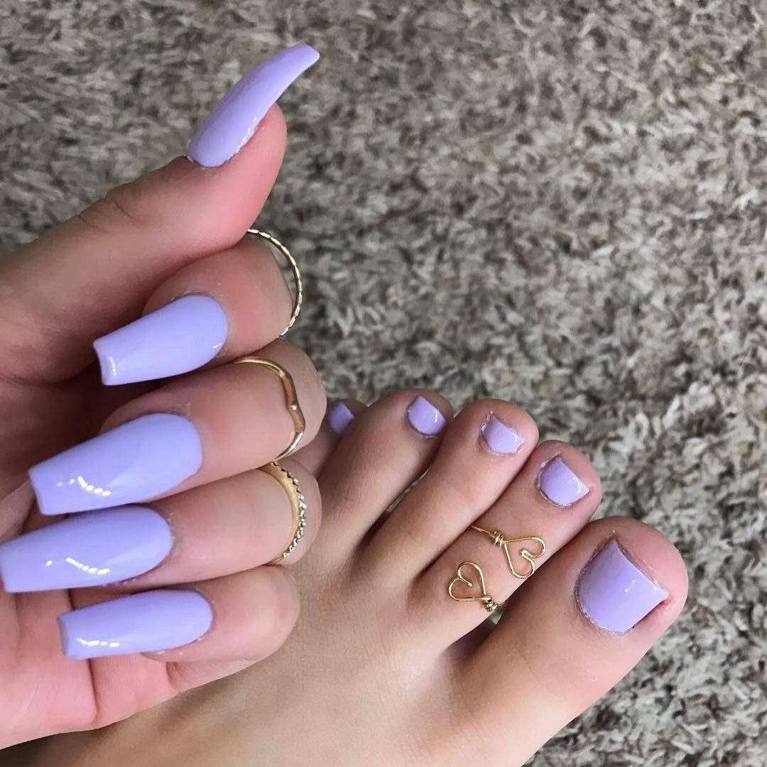 light purple acrylic nails - HD1080×1080
