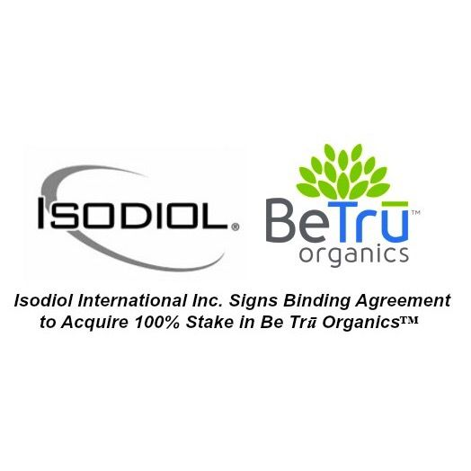 Isodiol International Inc Signs Binding Agreement to Acquire 100