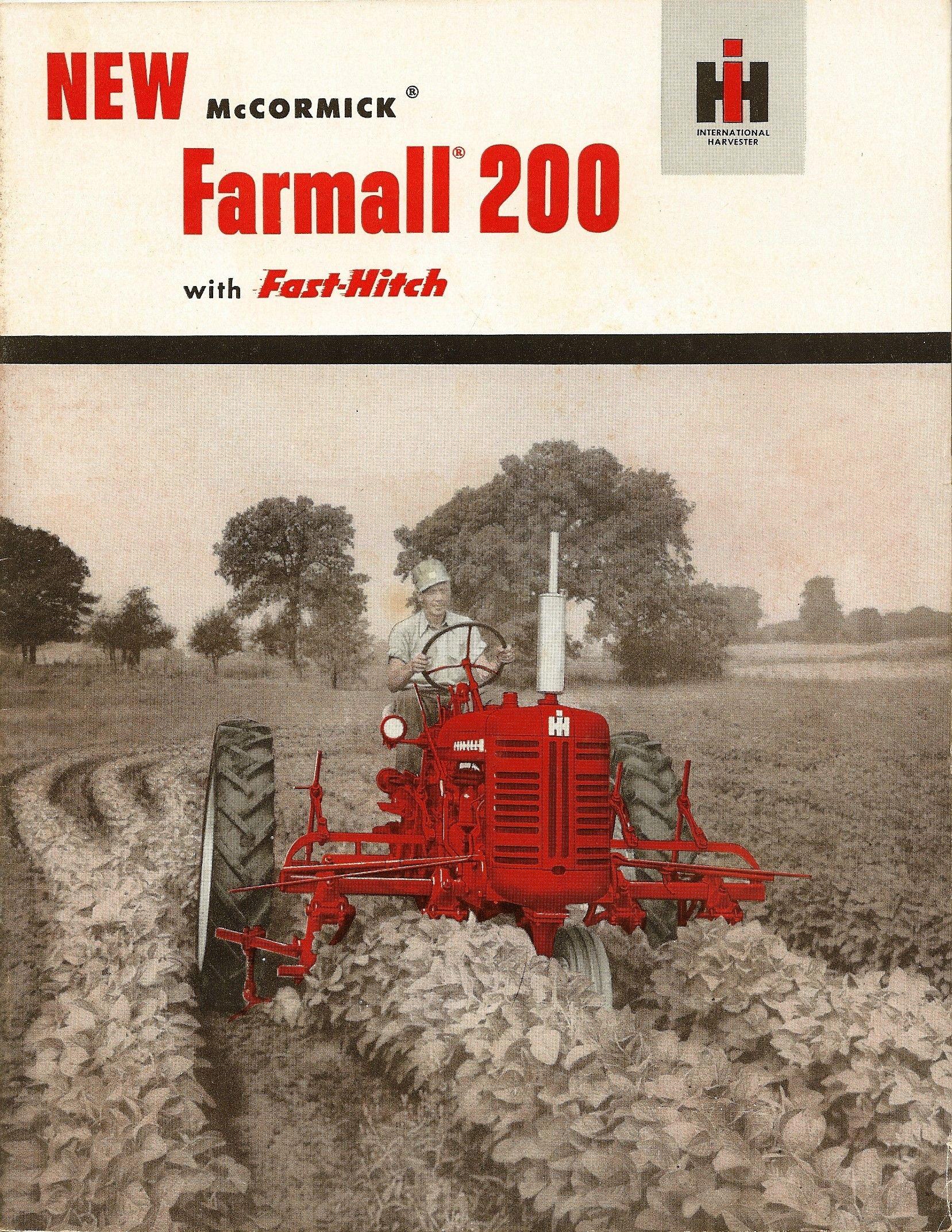 1955 Farmall 200