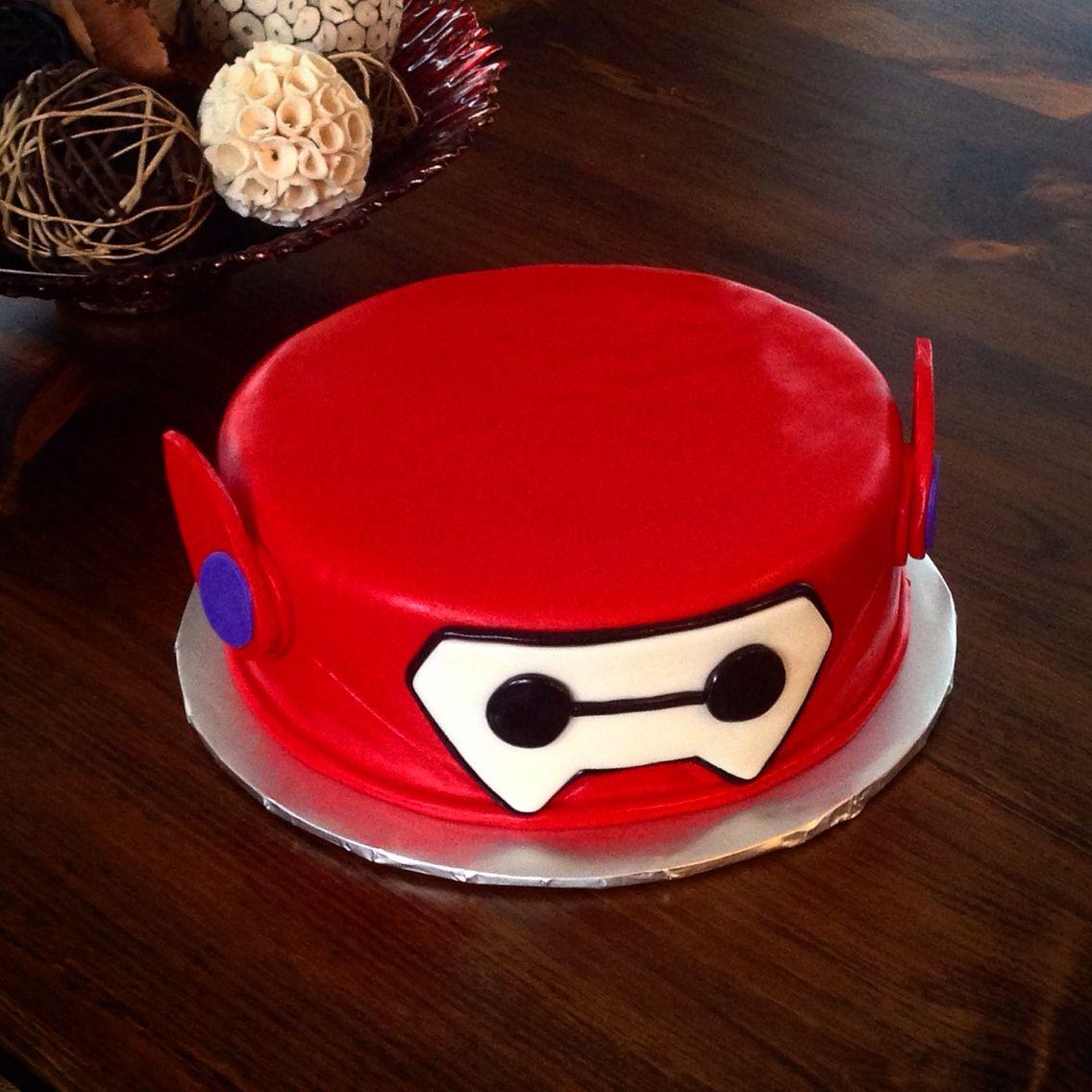 Baymax Cake Big Hero 6