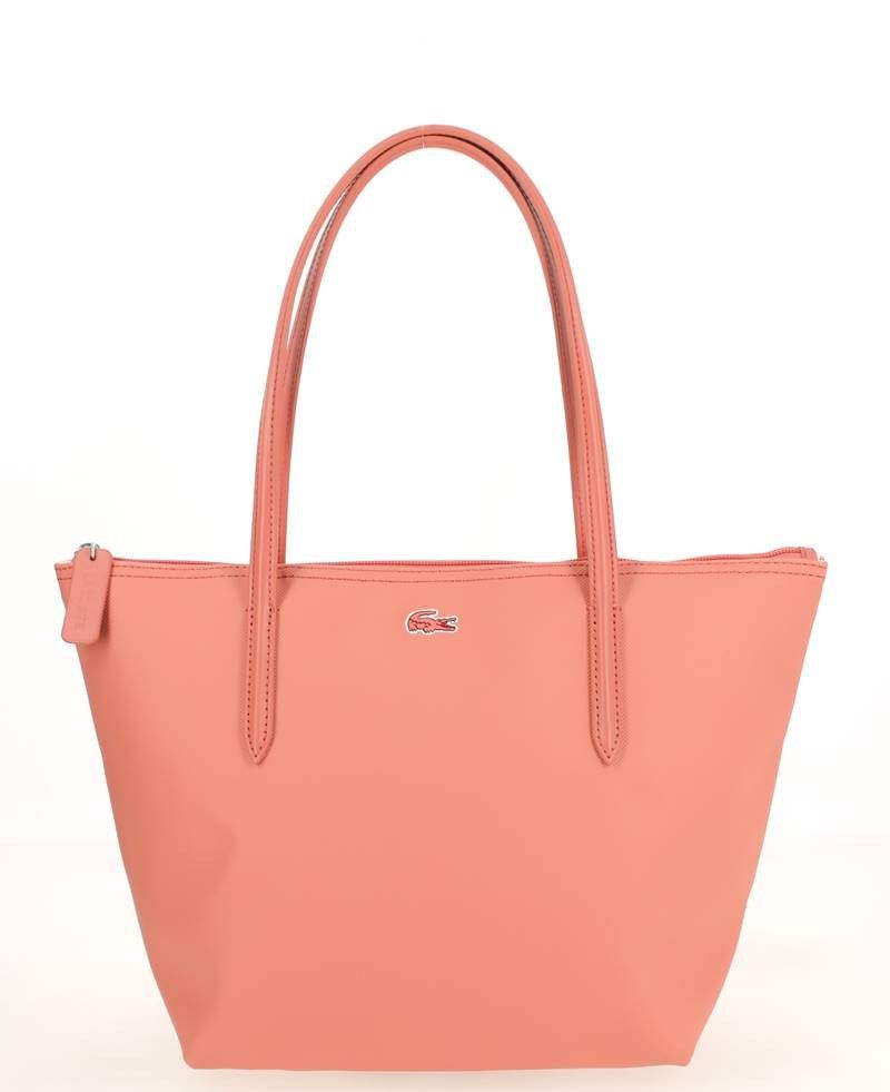 a06f311c529a5 Sac Shopping Lacoste S Rose | Bags | Lacoste bag, Handbags michael ...