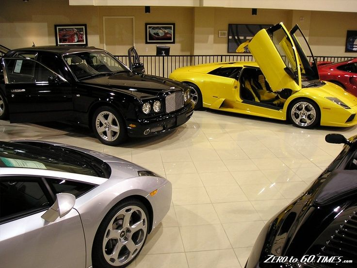 Expensive Car Collection Expensive Car Dealer Showrooms High End Cars Car Collection Car Showroom