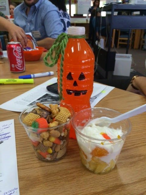 Cute and easy Halloween snacks! Buzzing with Ms. B: Five for Friday! Halloween edition