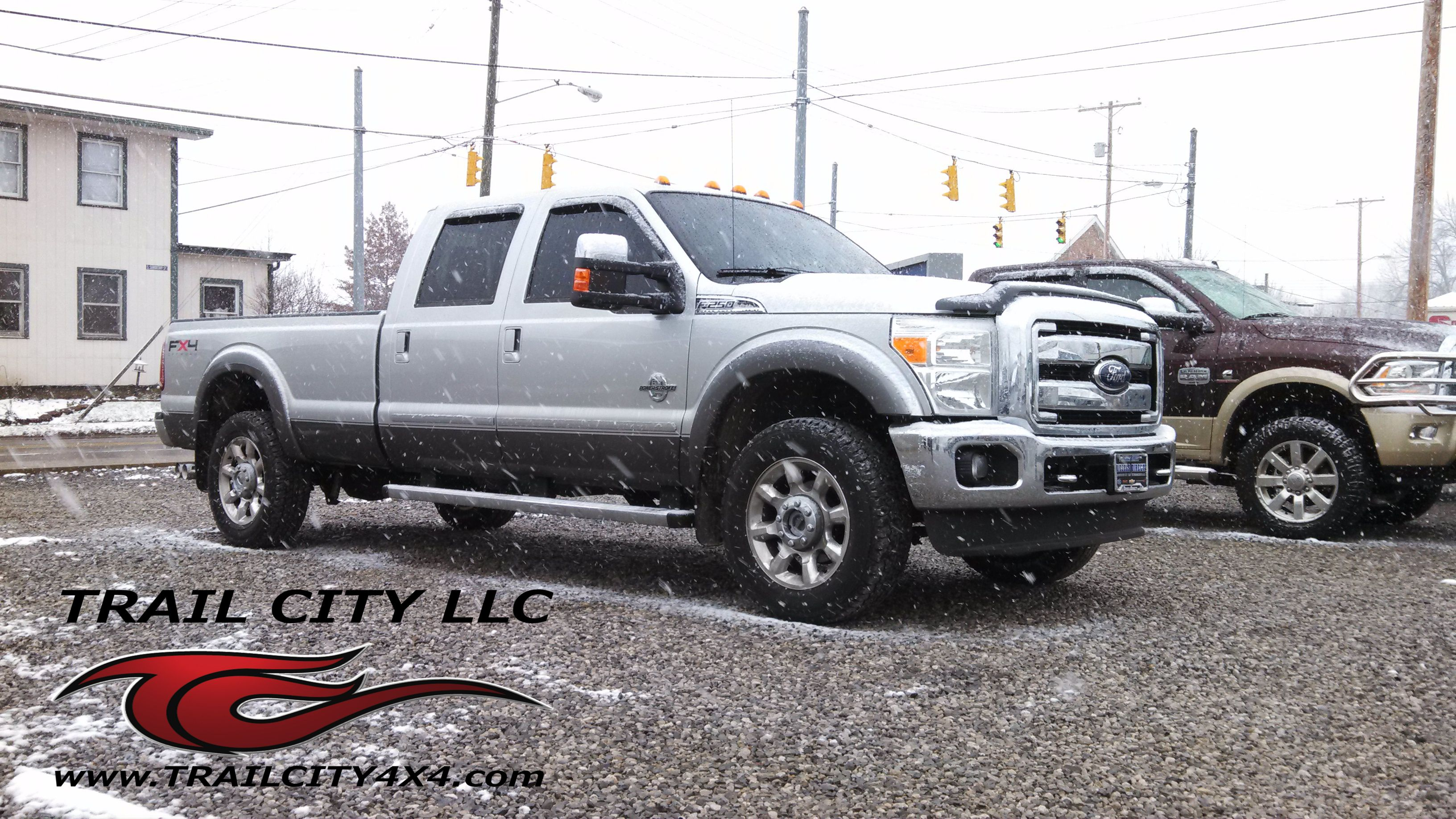 Check out this 2011 F250 we Customized with Pacer Cab