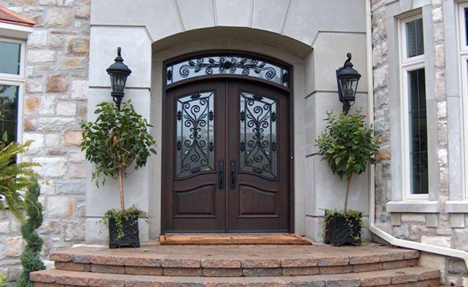 Front Door In Wooden Bourassa Front Door Design Front Door Doors