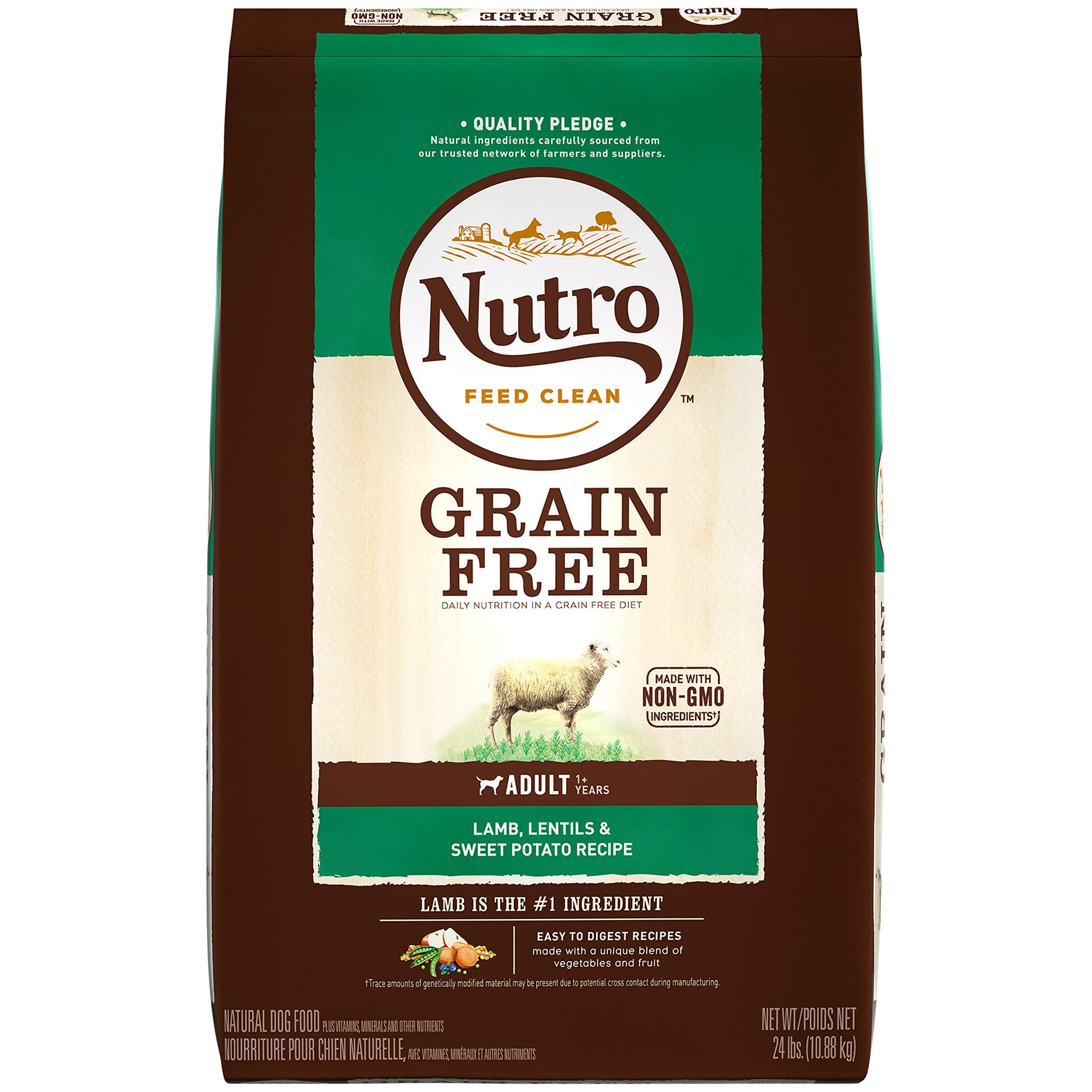 Nutro Grain Free Natural Adult Dry Dog Food Dog Food Recipes