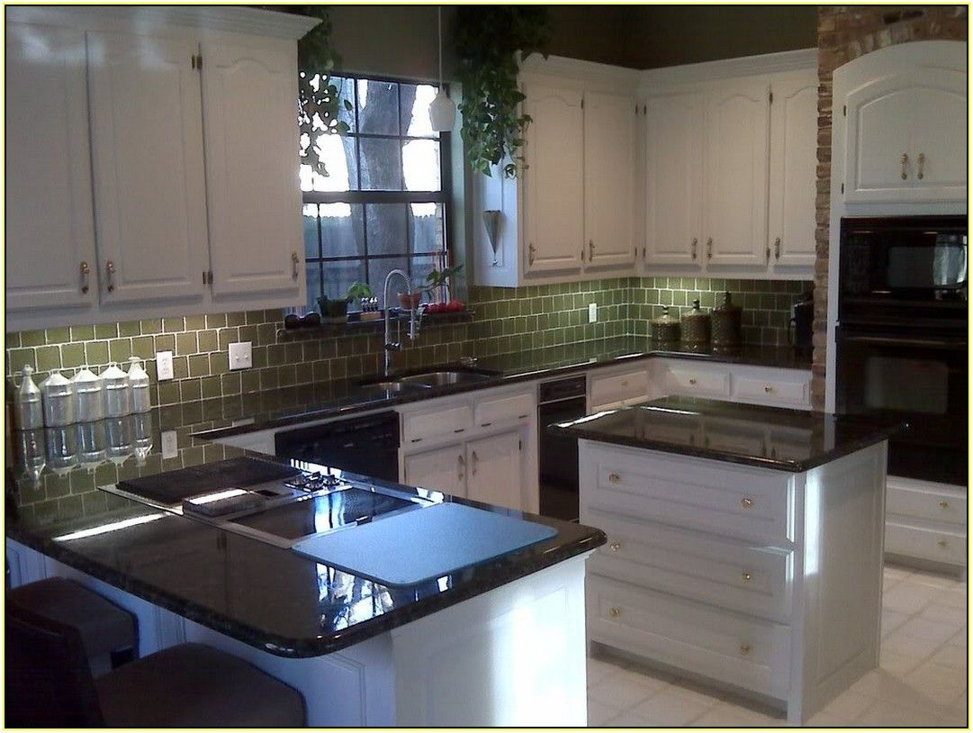 Verde Butterfly Granite With White Cabinets | GRANITE CHOICES ...