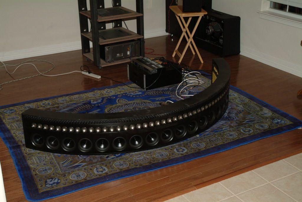 Constant beamwidth, open baffle, line source speaker | Custom home