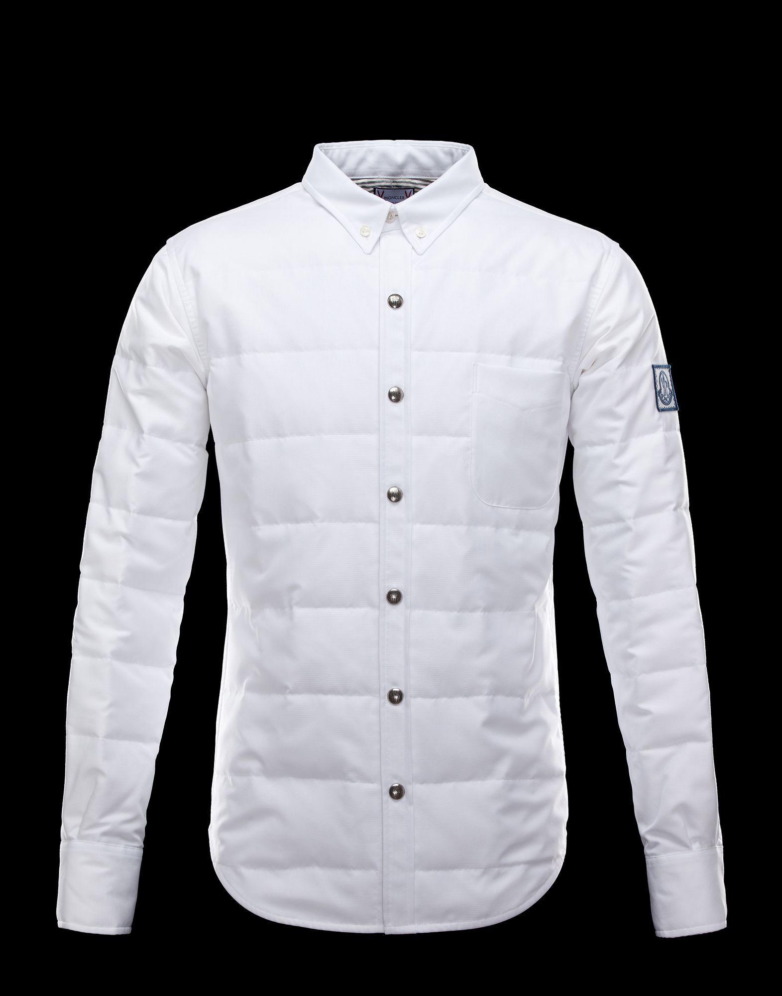 MONCLER GAMME BLEU Men - Fall/Winter 12 - SHIRTS - Long sleeve shirt -