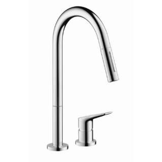 Hansgrohe 34822 Axor Citterio M Two Holes Kitchen Faucet Single Handle Kitchen Faucet Best Kitchen Faucets Kitchen Faucet Reviews