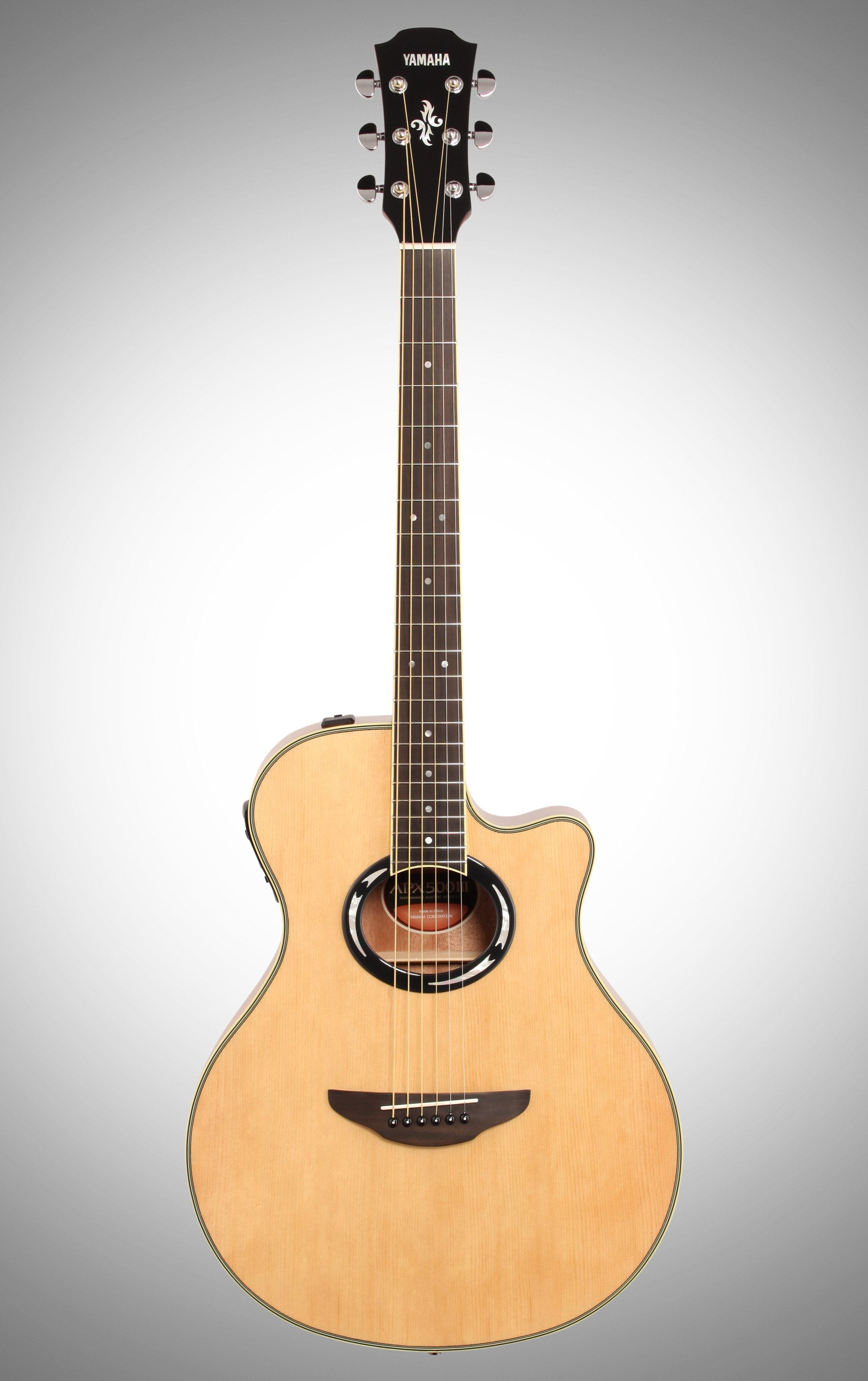 Yamaha Apx500iii Thinline Acoustic Electric Guitar Natural Acoustic Electric Acoustic Electric Guitar Guitar