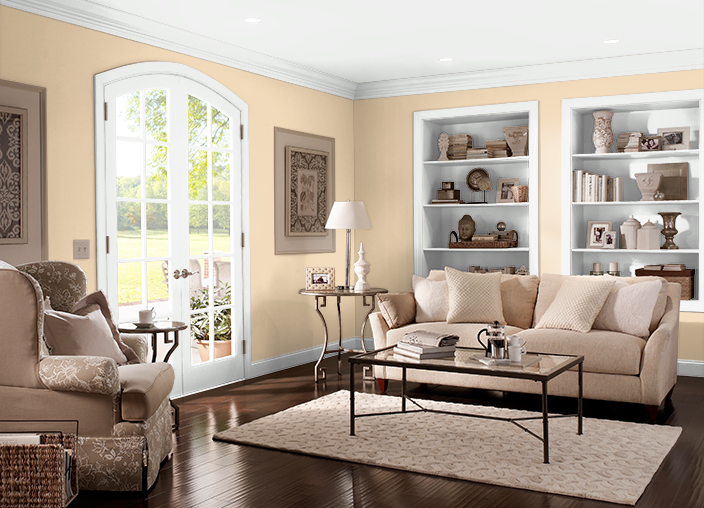 Champagne Wishes Behr Paint Paint Colors For Living Room Living